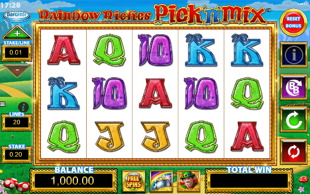 Rainbow Riches Pick And Mix Slot Review