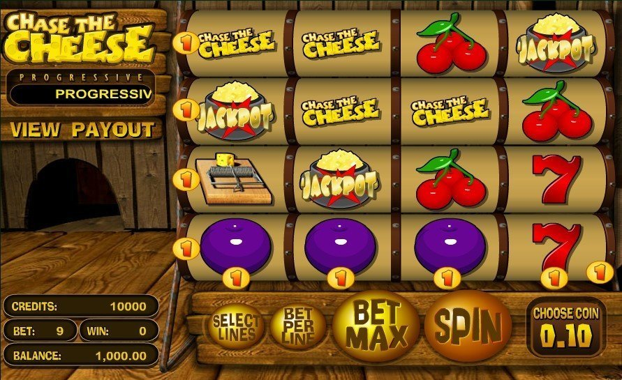 Chase The Cheese Slot Review