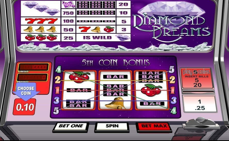 Diamond Dreams Slot Review