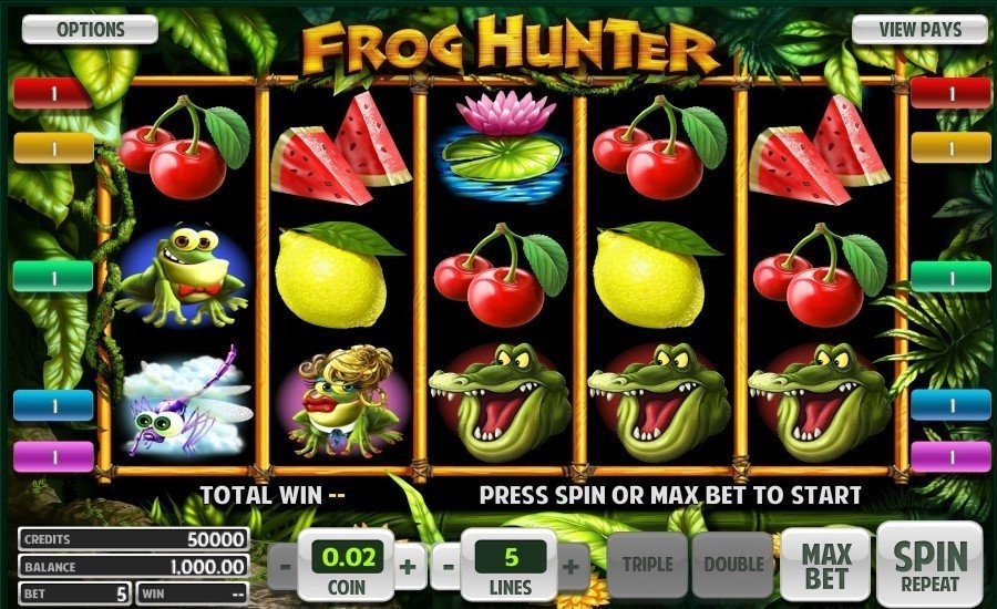 Frog Hunter Slot Review