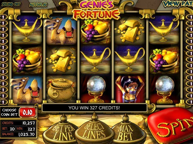 Genies Fortune Slot Review