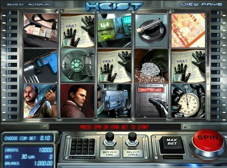 Heist Slot Review