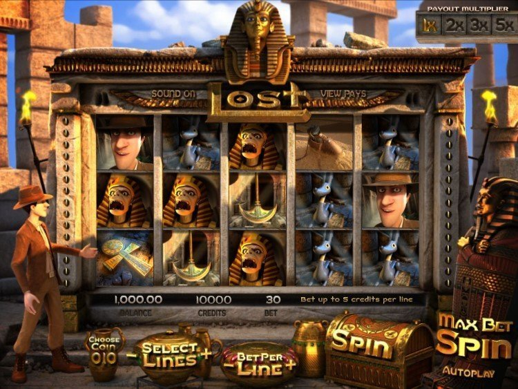 Lost Slot Review