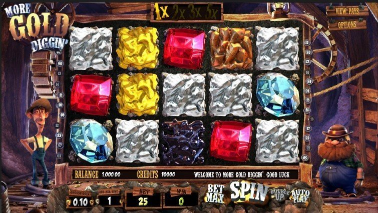 More Gold Diggin Slot Review