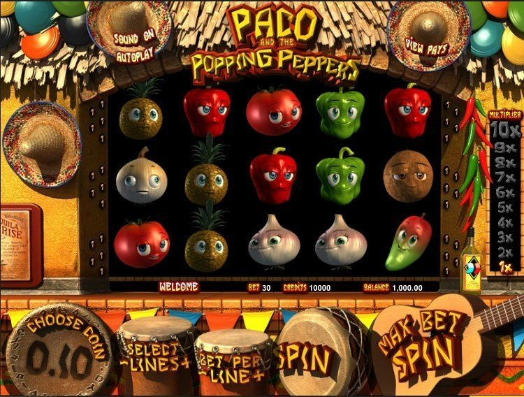 Paco And The Popping Peppers Slot Review
