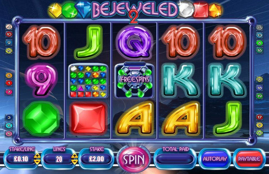 Bejeweled 2 Slot Review