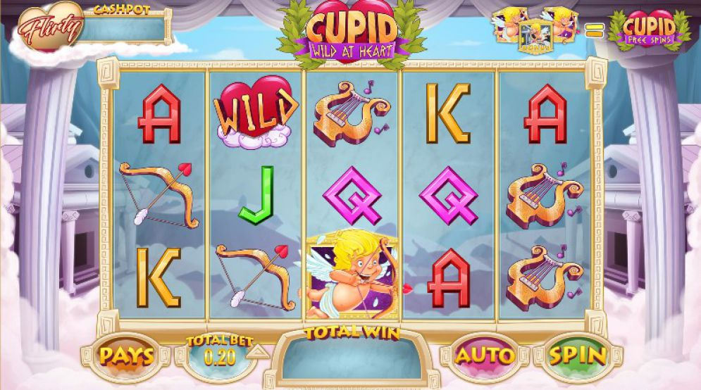 Cupid Wild At Heart Slot Review