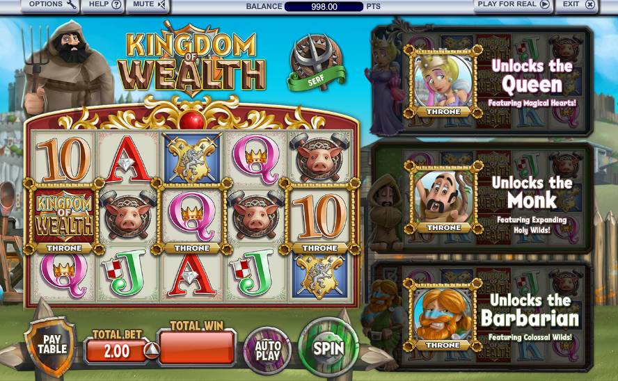Kingdom Of Wealth Slot Review