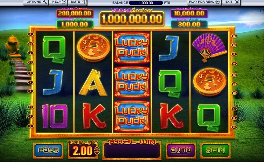 Lucky Duck Slot Review