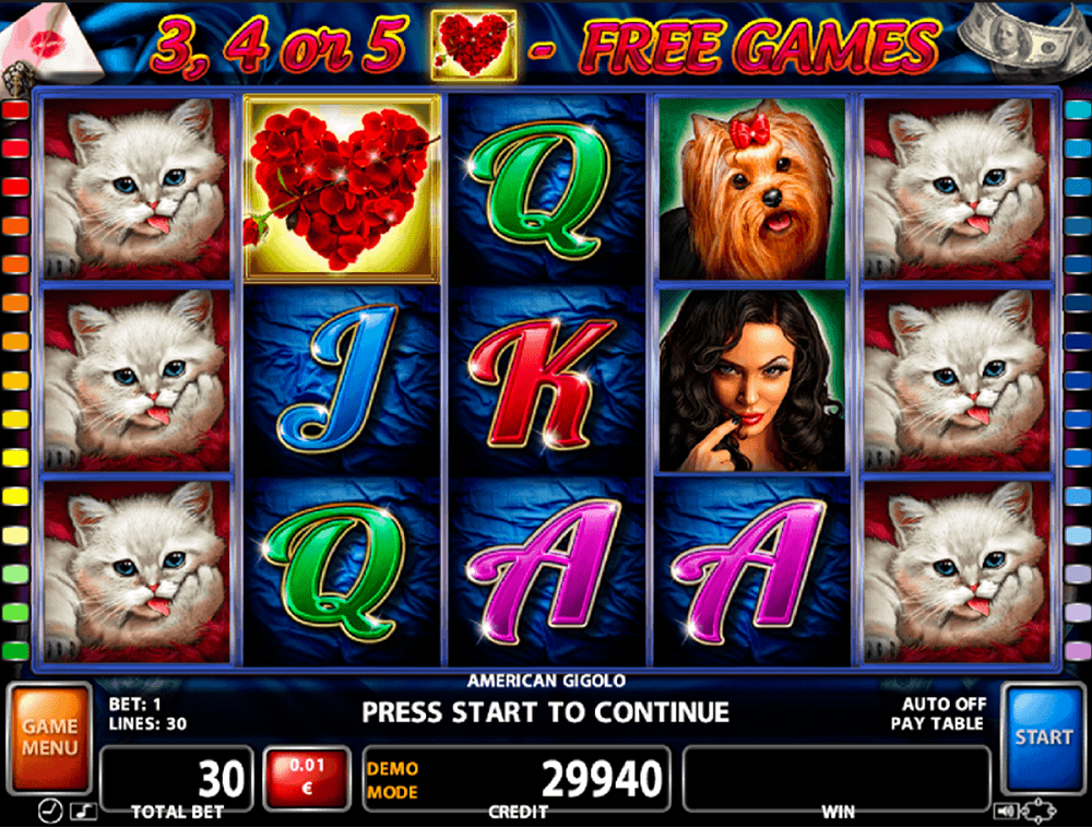 American Gigolo Slot Review