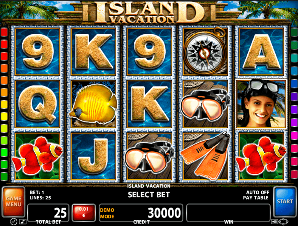 Island Vacation Slot Review