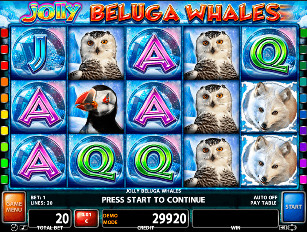 Jolly Beluga Whales Slot Review