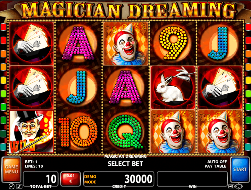 Magician Dreaming Slot Review