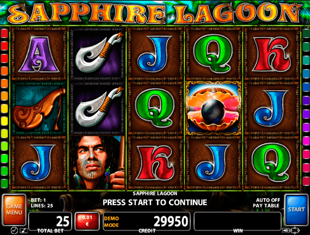 Sapphire Lagoon Slot Review