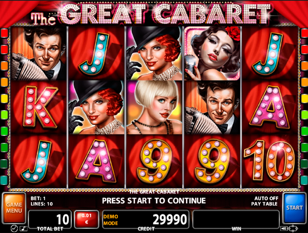 The Great Cabaret Slot Review