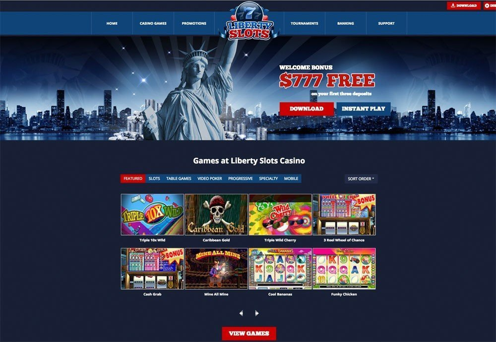 Liberty Slots Casino Review And Bonuses