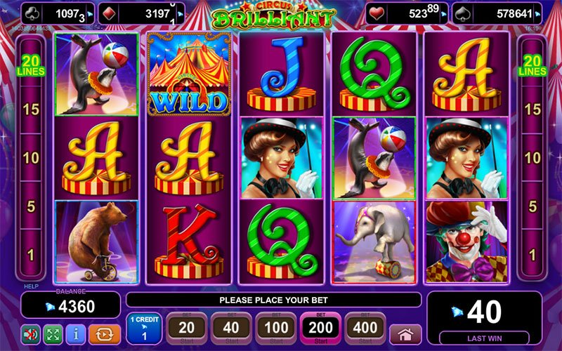 online casino games to play for free briliant