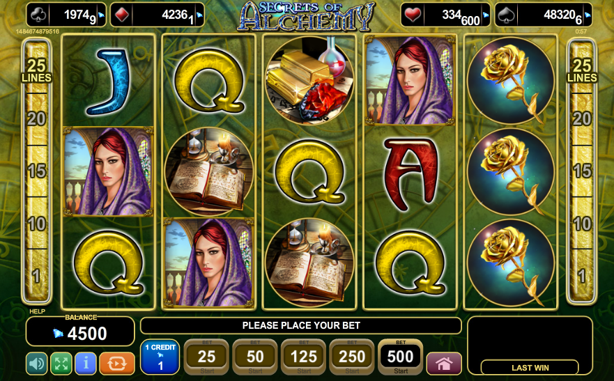 Secrets of Alchemy Slot Machine Online ᐈ EGT™ Casino Slots
