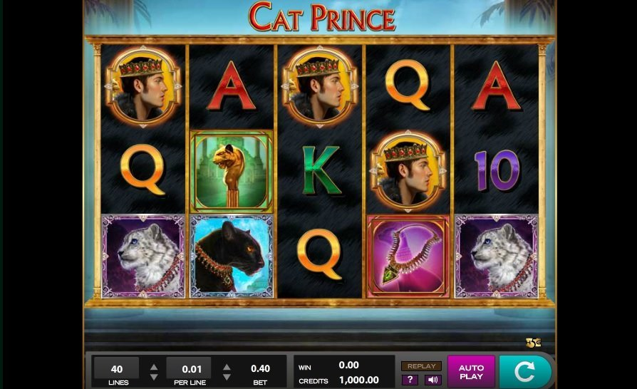 Cat Prince Slot Review