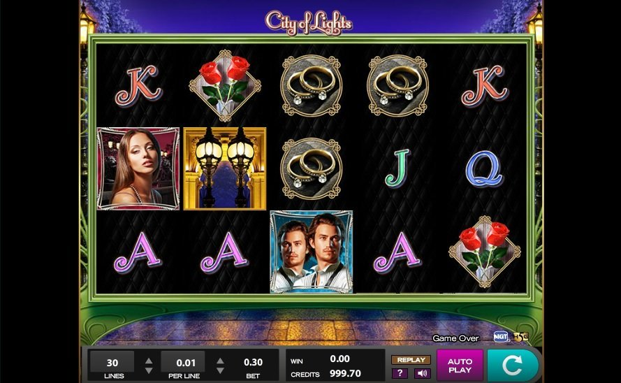 City Of Lights Slot Review
