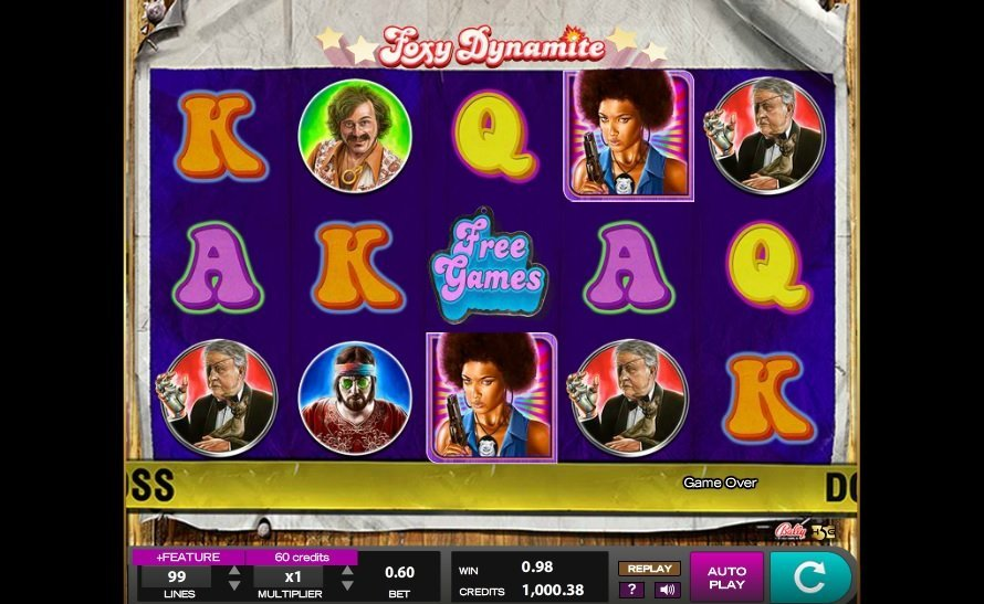 Foxy Dynamite Slot Review