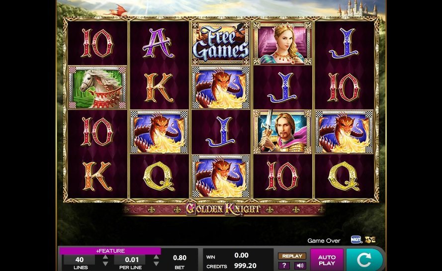 Golden Knight Slot Review
