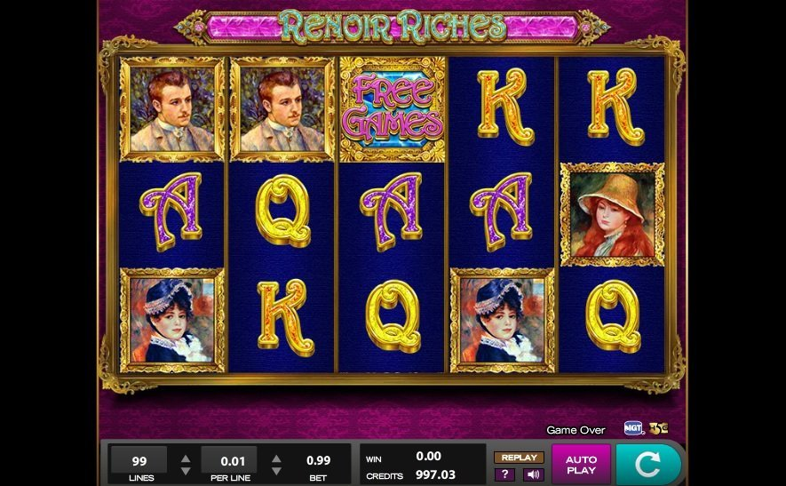 Renoir Riches Slot Review
