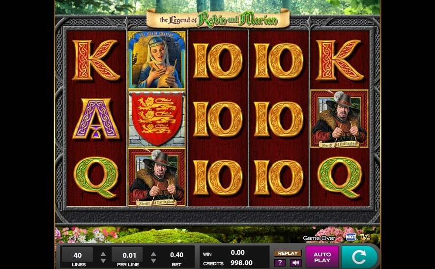 The Legend Of Robin And Marian Slot Review
