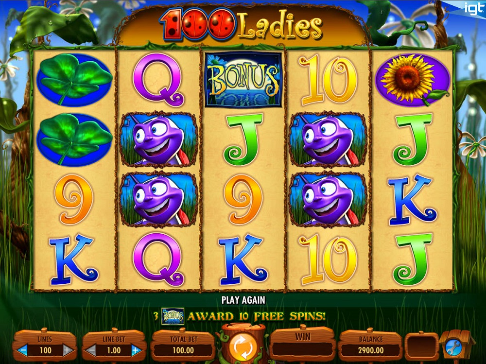 100 Ladies Slot Review