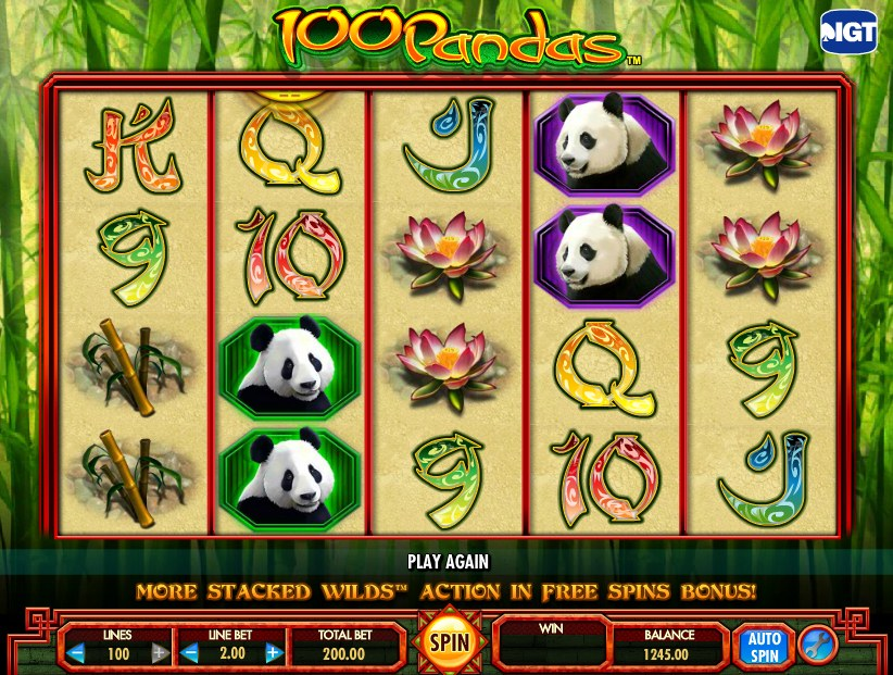 100 Pandas Slot Review