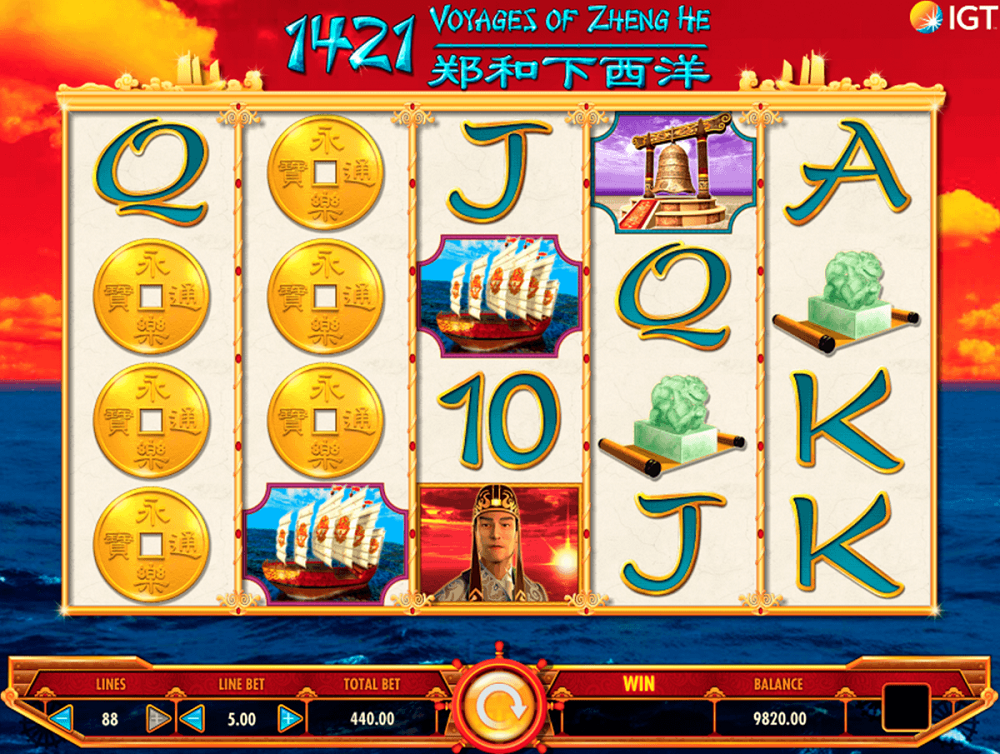 1421 Voyages Of Zheng He Slot Review