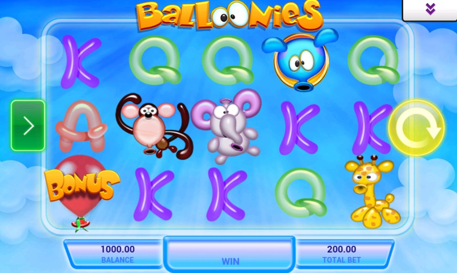 Balloonies Slot Review