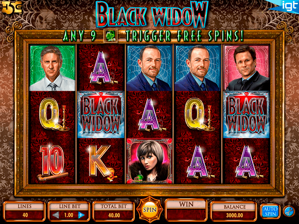 Black Widow Slot Review