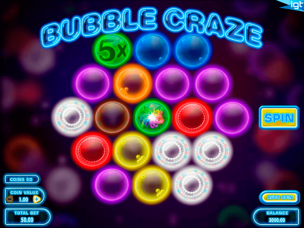 Bubble Craze Slot Review