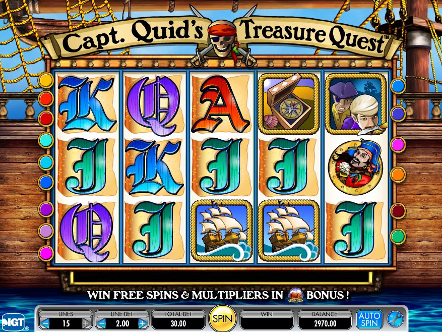 Captain Quids Treasure Chest Slot Review