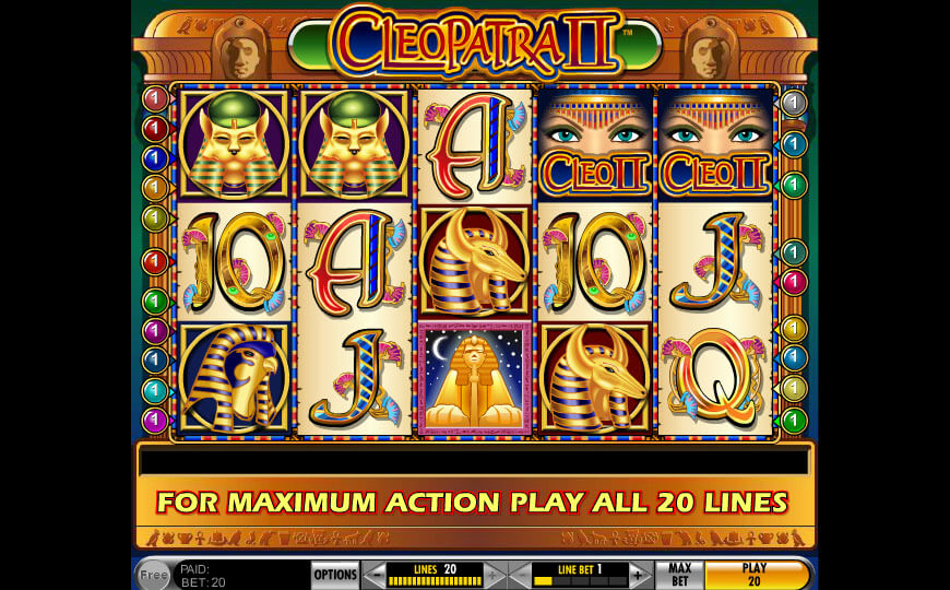 Cleopatra Ii Slot Review