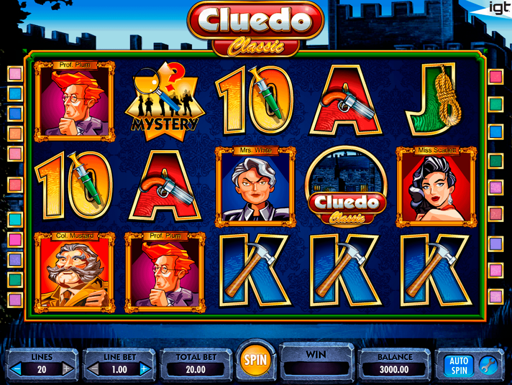 Cluedo Slot Review