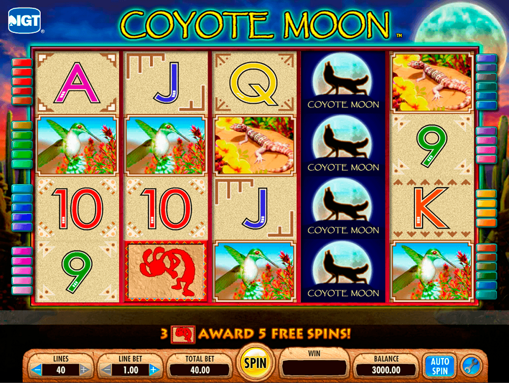 Coyote Moon Slot Review