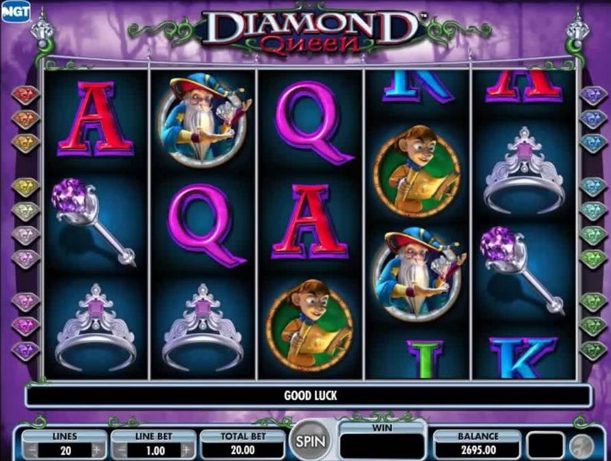 Diamond Queen slot by IGT review - play online for free!
