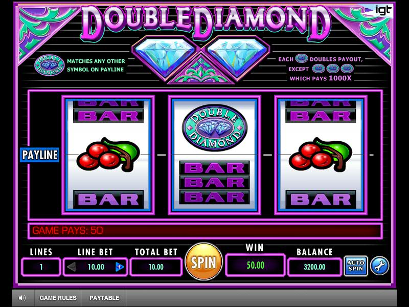Double Diamond Slot Review