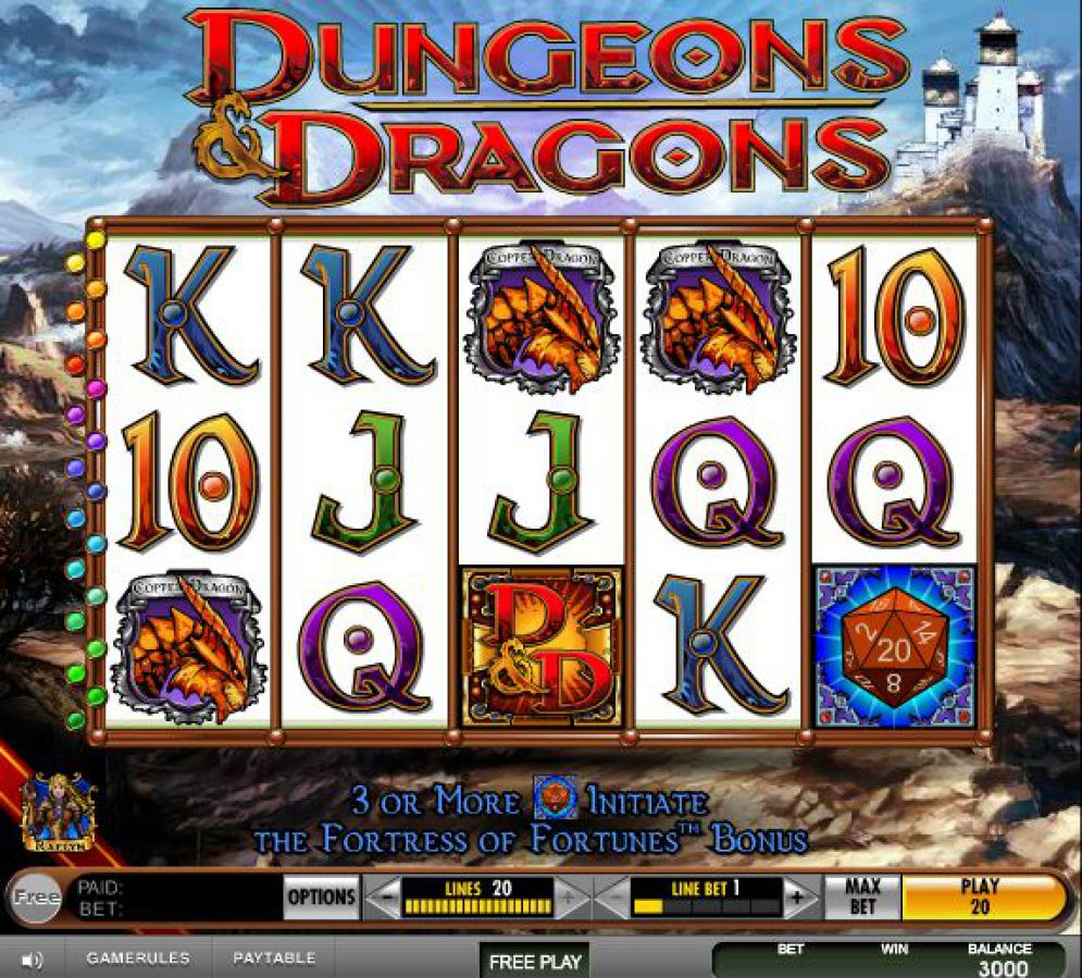 Dungeons And Dragons Fortune Of Fortress Slot Review