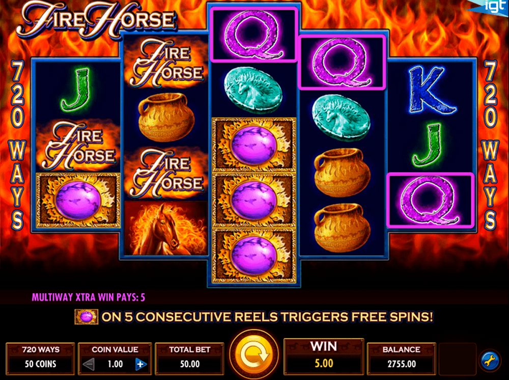 Fire Horse Slot Review