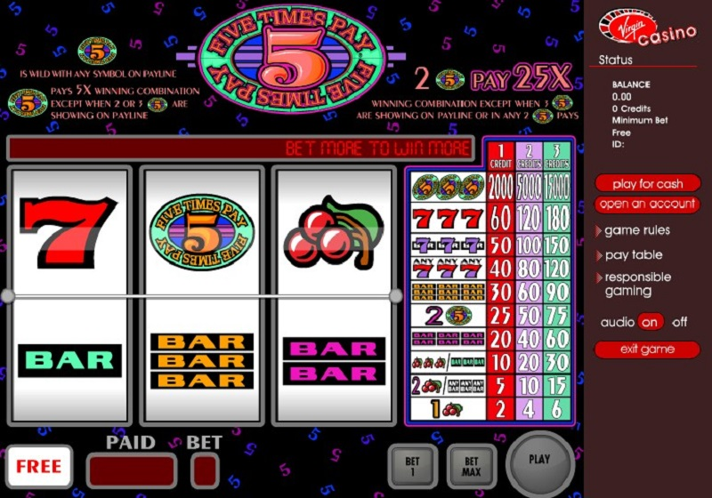 Five Times Pay Slot Review