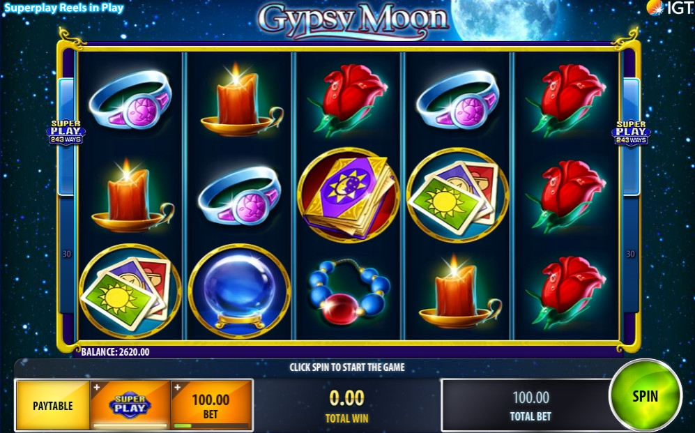 Gypsy Moon Slot Review