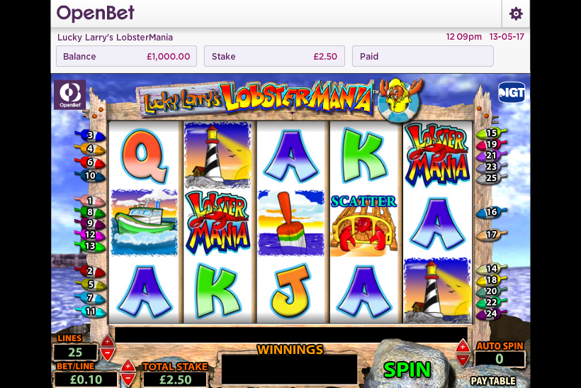 Lucky Larrys Lobstermania Slot Review