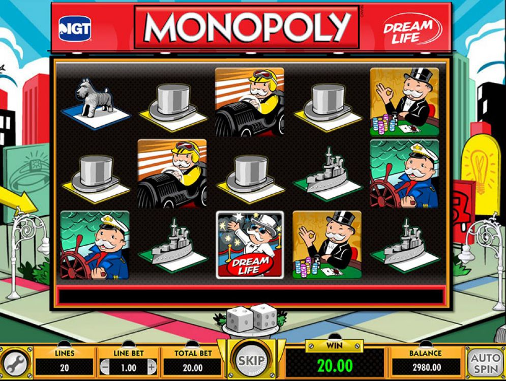 Monopoly Dream Life Slot Review
