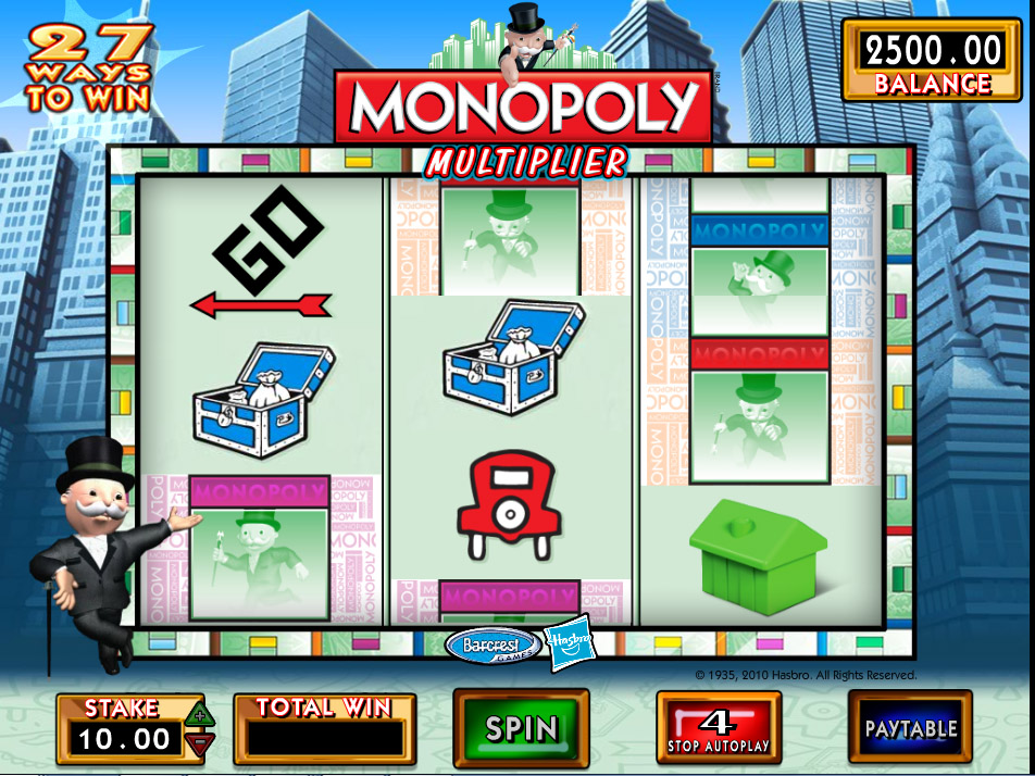 Monopoly Multiplier Slot Review