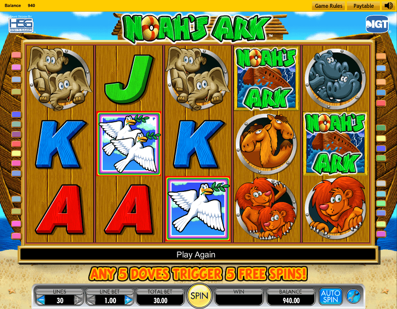 Noahs Ark Slot Review