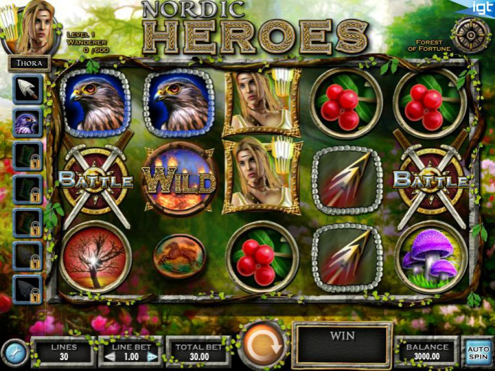 Nordic Heroes Slot Review