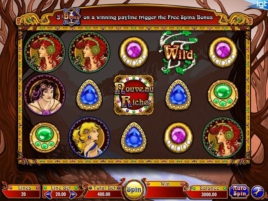 Nouveau Riche Slot Review